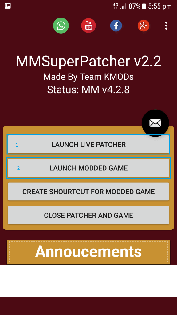 Mini Militia Mod launch 1