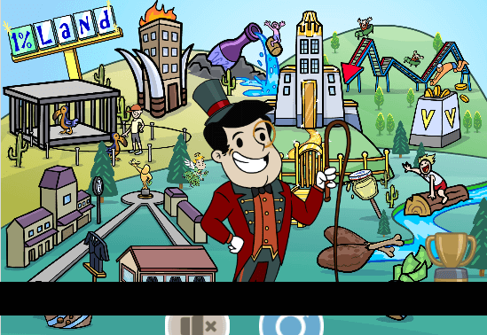 Adventure Capitalist Mod Apk gameplay screenshot