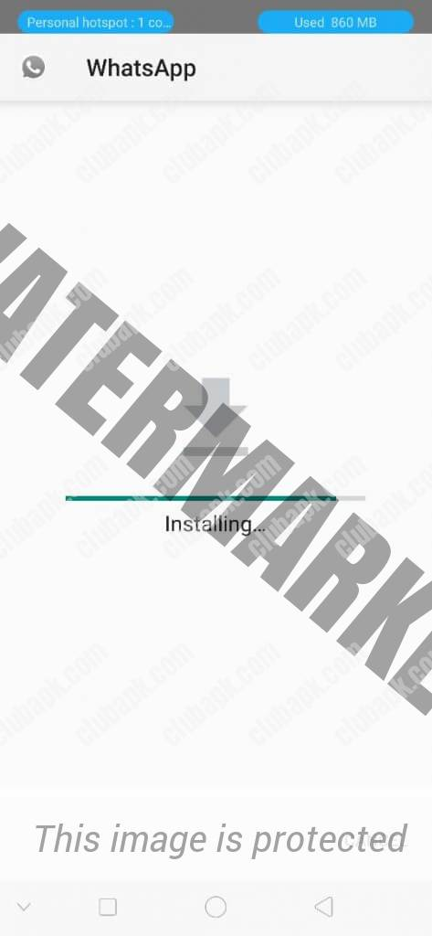 OGWhatsApp installing