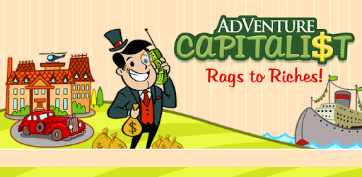 Adventure Capitalist Mod Apk gameplay screenshot 1