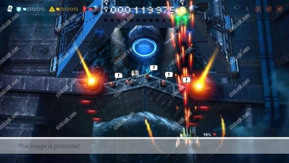 Sky Force Reloaded Game play on Android device